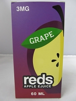 Reds Grape E-Juice 3mg Nicotine 60ml