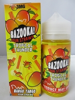 Bazooka Tropical Thunder-Mango Tango Sour Straws 3mg 100ml