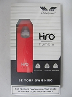 Hiro Humble By Indulgence Pod System Kit 400mAh (Red)