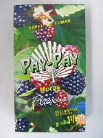 Pay-Pay (Papel De Fumar) 1-1/4 25booklets 32leaves (Blackberry)