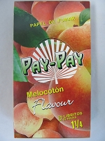 Pay-Pay (Papel De Fumar) 1-1/4 25booklets 32leaves (Peach)