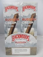 Backwood Russian Cream Singles 24ct Display