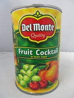 Del Monte Fruit Cocktail Stash Can
