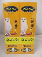 White Owl Cigarillos Save On 2 ~ 30ct Pouch (Pineapple)