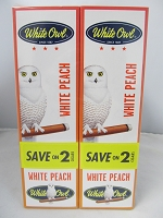 White Owl Cigarillos Save On 2 ~ 30ct Pouch (White Peach)