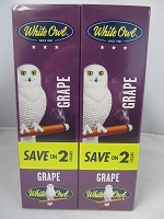 White Owl Cigarillos Save On 2 ~ 30ct Pouch (Grape)