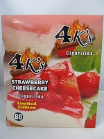 4K's Cigarillos 4pk 60ct Pouch (Strawberry Cheesecake)