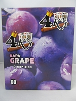 4K's Cigarillos 4pk 60ct Pouch (Napa Grape)