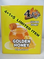 4K's Cigarillos 4+1pk 75ct Pouch (Golden Honey)
