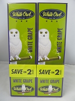 White Owl Cigarillos Save On 2 ~ 30ct Pouch (White Grape)