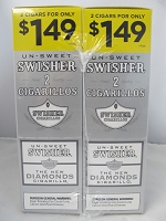 Swisher Sweet Cigarillos 2/$1.49 ~ 30ct Pouch (The Diamonds)