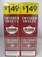 Swisher Sweet Cigarillos 2/$1.49 ~ 30ct Pouch (Sweet)