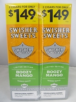 Swisher Sweet Cigarillos 2/$1.49 ~ 30ct Pouch (Boozy Mango)