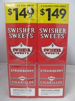 Swisher Sweet Cigarillos 2/$1.49 ~ 30ct Pouch (Strawberry)