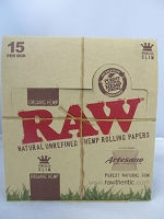 Raw Organic Artesano King Size 15ct 32leaves (Tray+Paper+Tips)