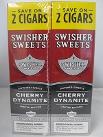 Swisher Sweet Cigarillos Save On 2 ~ 30ct Pouch (Cherry Dynamite)