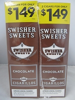 Swisher Sweet Cigarillos 2/$1.49 ~ 30ct Pouch (Chocolate)
