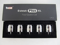Yocan Evolve Plus XL Quartz Quad Coil (Wax) 5ct