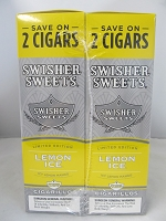 Swisher Sweet Cigarillos Save On 2 ~ 30ct Pouch (Lemon Ice)
