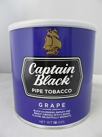Captain Black Pipe Tobacco 12oz Can (Grape)