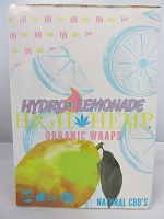 High Hemp Organic CBD Blunt Wraps 25ct (Hydro Lemonade)