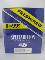Splitarillos 6/99¢ Cigarillos G6 Grape 15ct