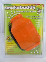 Smoke Buddy Junior Pocket Size Personal Air Filter (Orange)