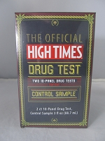 High Times Two 10-Panel Home Test Kit Plus Control Sample