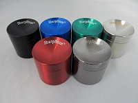 42mm Sharpstone Concave Multi Color Zinc Grinder 1ct