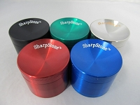 50mm Sharpstone Concave Multi Color Zinc Grinder 1ct
