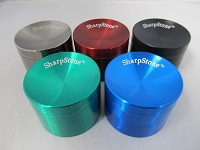 56mm Sharpstone Concave Multi Color Zinc Grinder 1ct