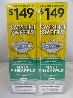 Swisher Sweet Cigarillos 2/$1.49 ~ 30ct Pouch (Maui Pineapple)