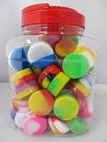 Silicone Jar Mix Color 70ct Jar