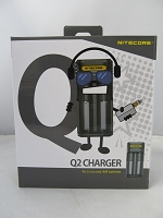 Nitecore Intelligent Lithium Ion Double Battery Charger Q2
