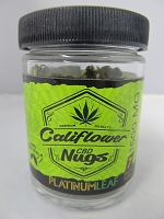 Califlower CBD Nugs 7gm - Platinum Leaf - 1500MG