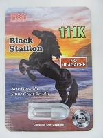 Black Stallion 111k FDA Registered