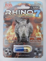 Rhino 7 Platinum 5K FDA Registered