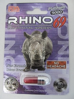 Rhino 69 Platinum 9K FDA Registered
