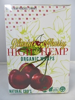 High Hemp Organic CBD Blunt Wraps 25ct (Blazin' Cherry)