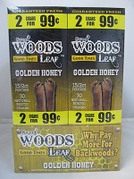 Sweet Woods by Good Times 2/99¢ ~ 60ct Pouch (Golden Honey)