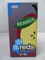 Iced Reds Berries E-Juice 3mg Nicotine 60ml