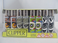 Clipper Refillable Lighter Animals21 48ct Display