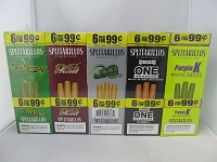 Splitarillos 6/99¢ Cigarillos Combo 20ct Display