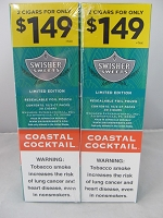 Swisher Sweet Cigarillos 2/$1.49 ~ 30ct Pouch (Coastal Cocktail )