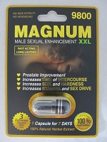 Magnum Black XXL Male Enhancement 9800