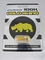 Gold Rhino Special Edition 100K Male Enhancement