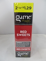 Game 2 For $1.29 Red Sweets Cigarillos 15ct Display