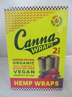Canna Wraps Hemp Wraps Mixed Berries 24ct 2pk