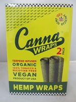 Canna Wraps Hemp Wraps Original 24ct 2pk