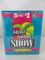 Show Cigarillos 5 Cigars For $1 ~ 15ct Pouch (Mota Island)